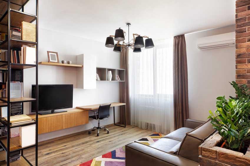 Modern study cum living area